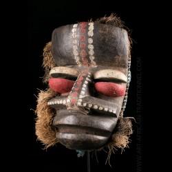 Masque de guerrier Wè Guere...