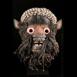 Masque de guerrier Wé Guéré...