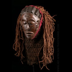 Mwana Pwo mask Chokwe