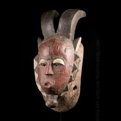 Masque Baoulé Kpwan Ple -...