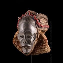 Mwana Pwo Chokwe mask -...