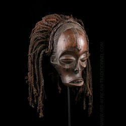 Chokwe Pwo beautiful girl mask