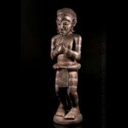 Statue Chokwe Luena de...