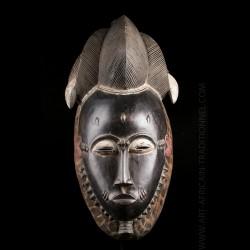 Masque Baoulé Mblo Kpwan Ple