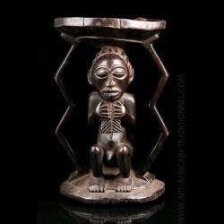 caryatid stool - Kusu Hemba