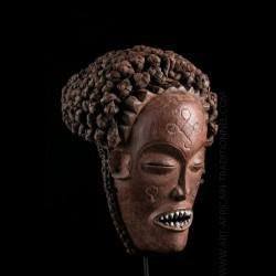 Masque Chokwe Pwo Galerie Art Africain
