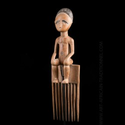Peigne Ashanti Galerie Art Africain