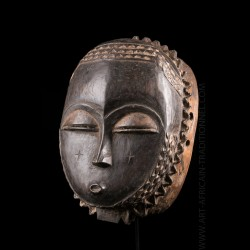 Baoule lunar mask - SOLD OUT