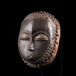 Masque Baoulé Lune - VENDU