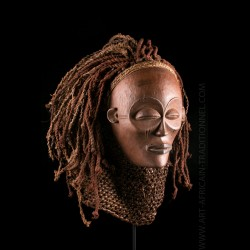 Mwana Pwo Tshokwe mask
