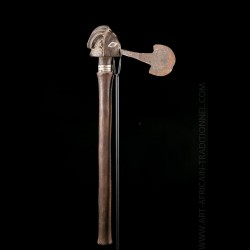 Luba Upemba chief's axe