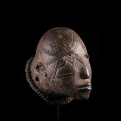 Masque africain Lipiko -...