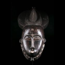 Goli Kpwan Ple Mask Baule -...