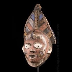 Masque de festivités Yoruba...