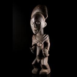 Statue de dignitaire Luba -...