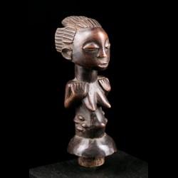 Statuette féminine Luba