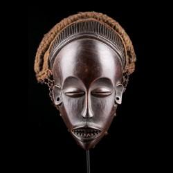 Masque féminin Pwo Tshokwe