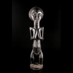 Grande statue de femme Luba