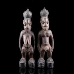 Paire de jumeaux Ibeji Yoruba