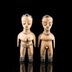 Paire de figures Ewe Venavi