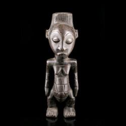 Statue féminine Mangbetu