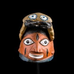 Petit masque Gelede Yoruba