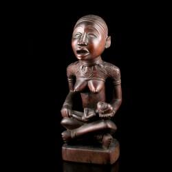Kongo Phemba maternity figure