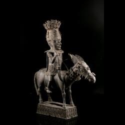 Royal rider and horse Bini Edo
