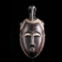 Masque tribal Lomane Yaouré...