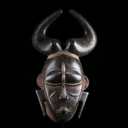Masque africain Ligbi Côte...