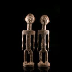 Couple de statues Metoko...