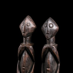 Paire de statues africaines...
