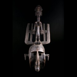 Masque africain authentique...