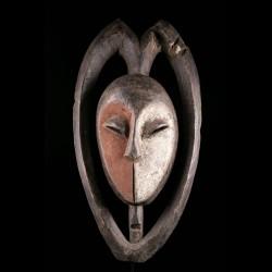 Masque africain Ekuk Kwele...