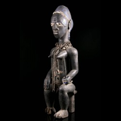Female figure - Baule -...