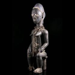 Statue féminine africaine -...