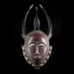 Masque africain du Gye -...