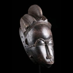 Masque africain Mblo Baoulé...