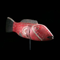 Fish puppet - Bozo - Mali - SOLD