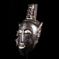 Facial mask - Kulango - Ivory Coast
