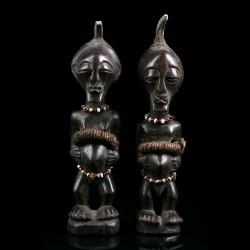 Pair of Nkishi figures -...