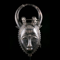 Lomane Mask - Baule / Yaure...