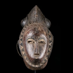 Facial mask - Yaoure - Ivory Coast
