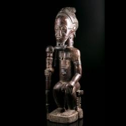 Statue africaine Asie Usu -...