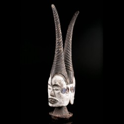 Masque cimier africain...