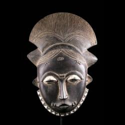 Mblo Mask - Baule - Ivory...