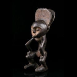 Ofika hanged figure of the Lilwa - Mbole - D. R. Congo