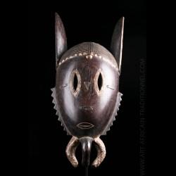 Masque zoomorphe Djimini -...