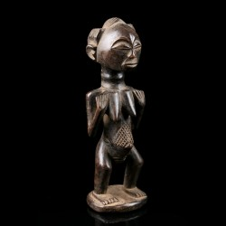 Tiny female figure - Luba - Congo