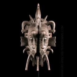 Masque Kpeliye gemellaire -...